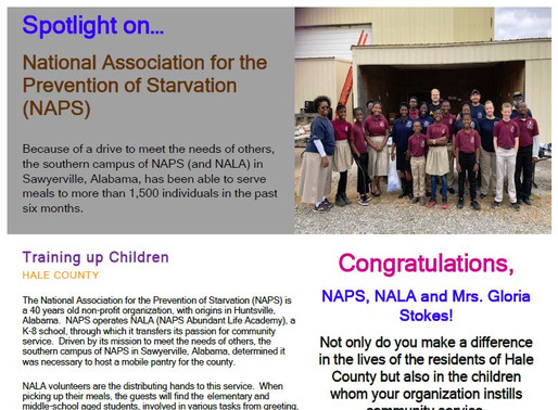 1,500 fed in West Alabama