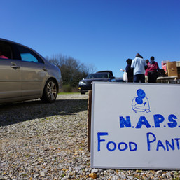 NAPS Academy Students Provide meals to +200 Families