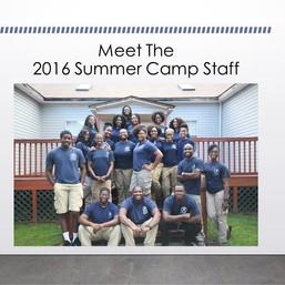 Meet the Staff: Summer Camp 2016