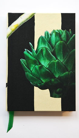 ARTICHOKES SILK NOTEBOOK