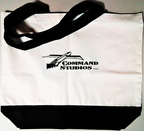 COMMAND STUDIOS  Deluxe Cotton Tote Bag - Classic Design