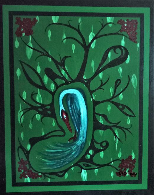 Aussie Christian artist bird artwork