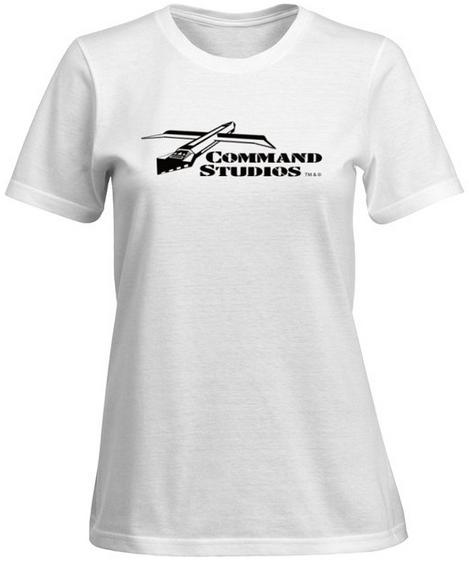 Ladies 100% Cotton T-Shirt - Classic Design, White