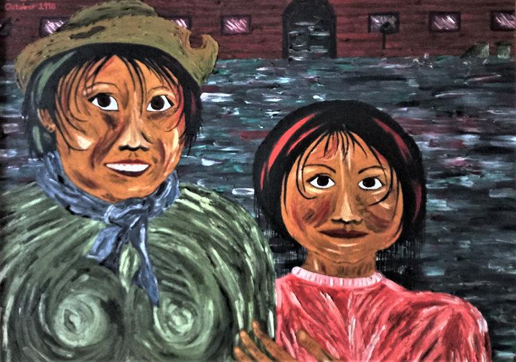 Art by Christian artist Ohroara of begga
