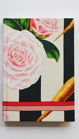 CARROTS & ROSES SILK NOTEBOOK