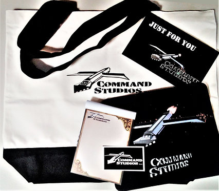 COMMAND STUDIOS Tote Bag Gift Pack