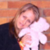 Ohroara homepage website Christian lady with teddy bear