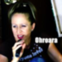 Ohroara album cover Australian pop singer