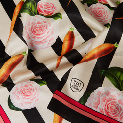 The Grocery Collection - silk scarf