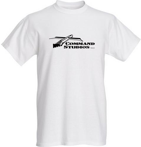 Mens 100% Cotton T-Shirt - Classic Design, White