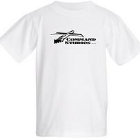 COMMAND STUDIOS Kids 100% Cotton T-Shirt