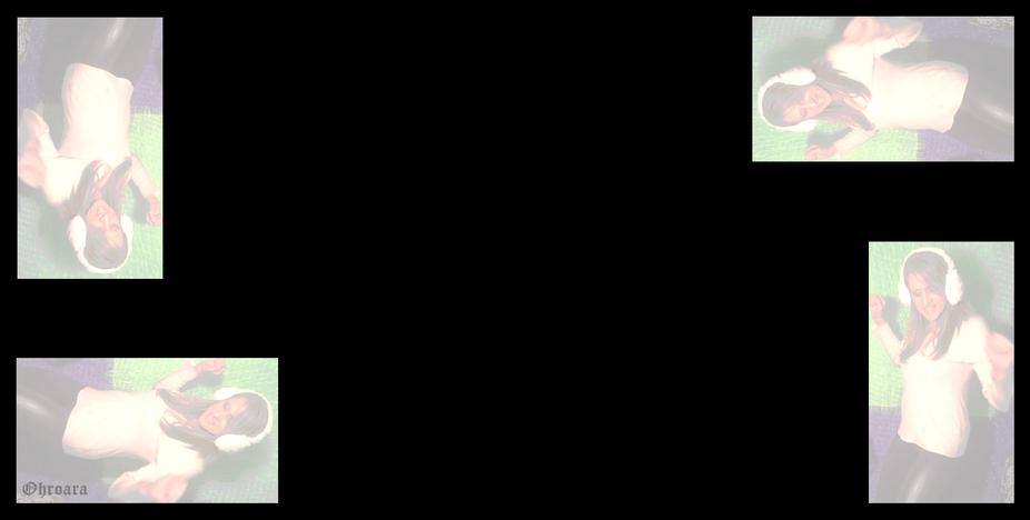 Black Screen with Ohroara Dancing
