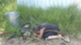 Australian actress Ohroara playing a homeless girl.