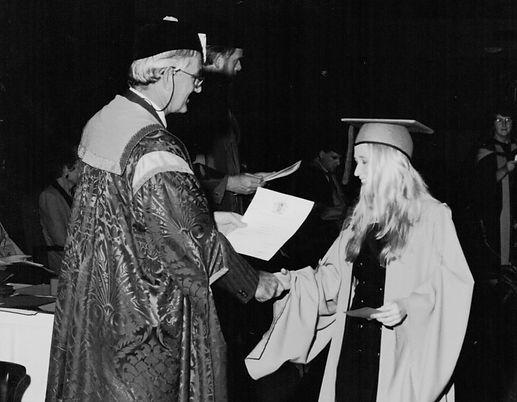BA Bachelor of Arts graduation ceremony