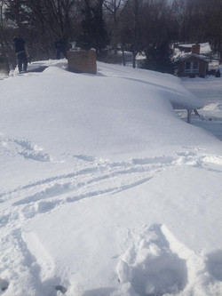 Rochester NY Roof Top Snow Removal