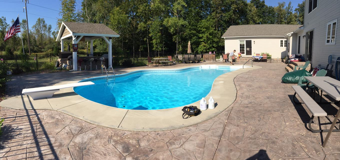 Rochester Inground Swimming Pool Openings