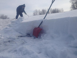 Roof Top Snow Removal Rochester NY