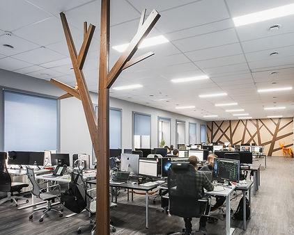 Дизайн интерьера офиса Umbrella IT