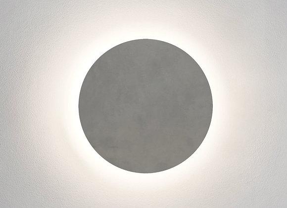 Eclipse Round 300 LED Matt Concrete 1333011