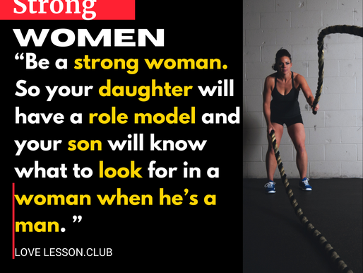 Strong Women Quots -Love Lesson Club