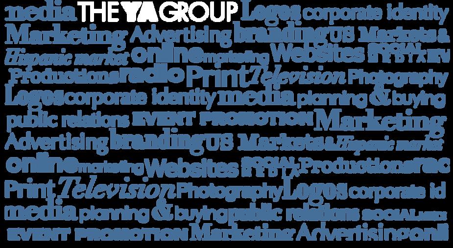 The YA Group. Website Design, Advertising, Hispanic, Branding, Mobile, Social.