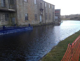 Completed work in Burnley for Barnfield Construction Ltd