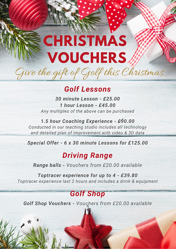 Charnwood Golf & Leisure Complex - Gift