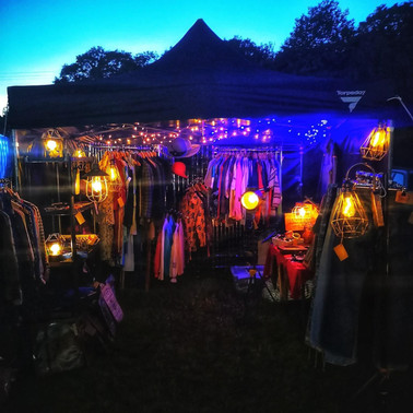 Night Market Shopping