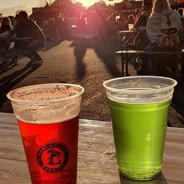 Drinks at dusk