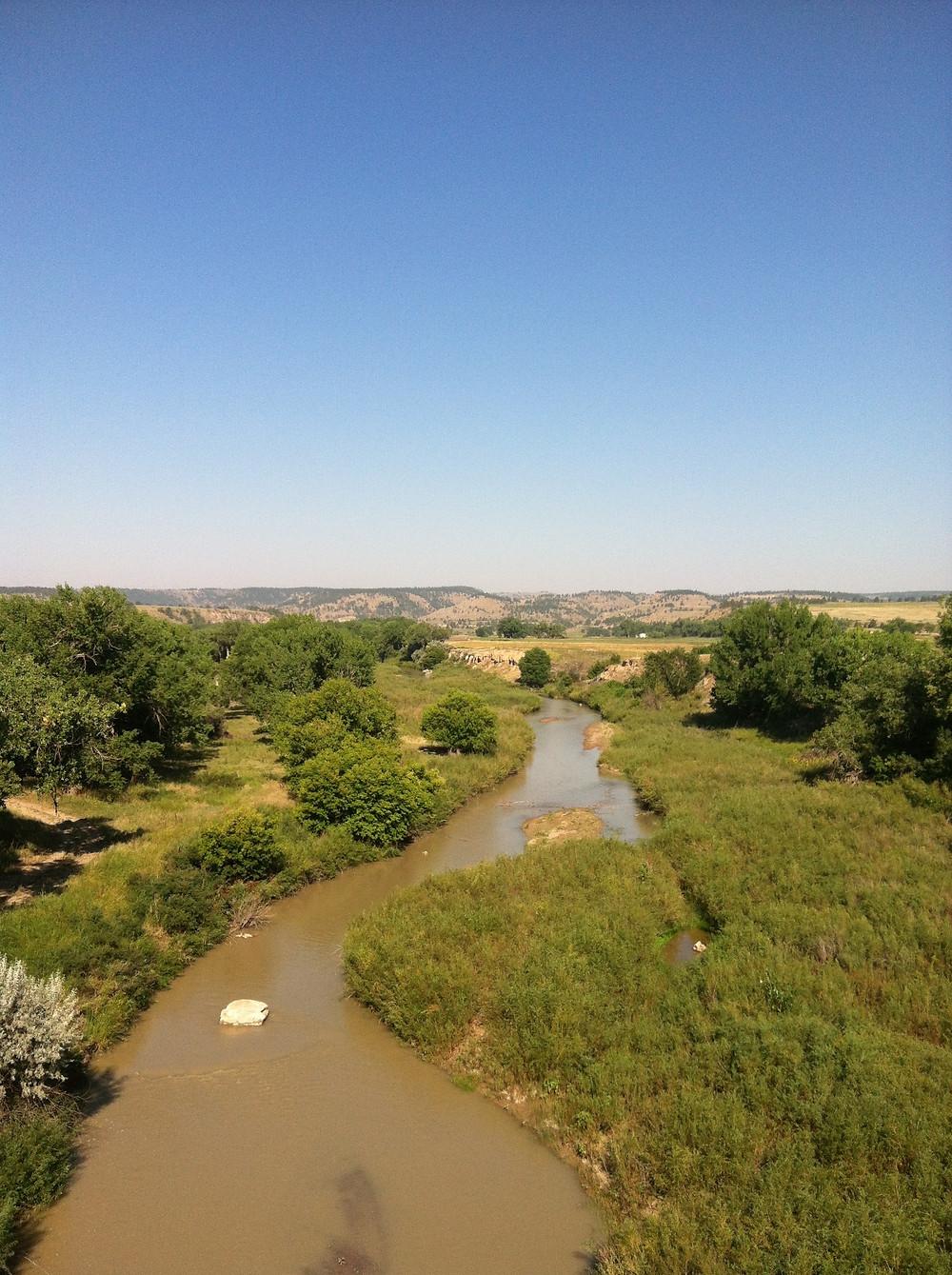 Cheyenne River, tributary of Missouri River