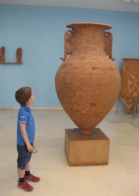 Musée archéologique de Tinos, Grèce. Copyr. S.C.