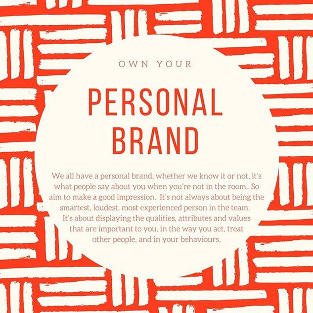 Kick starting your career in the music industry : Top Tip no 2 : Personal Brand