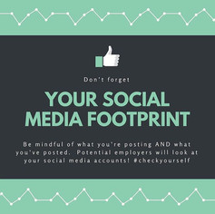Kick starting your career in the music business : Top Tip no 5 : Be aware of your social media footprint.