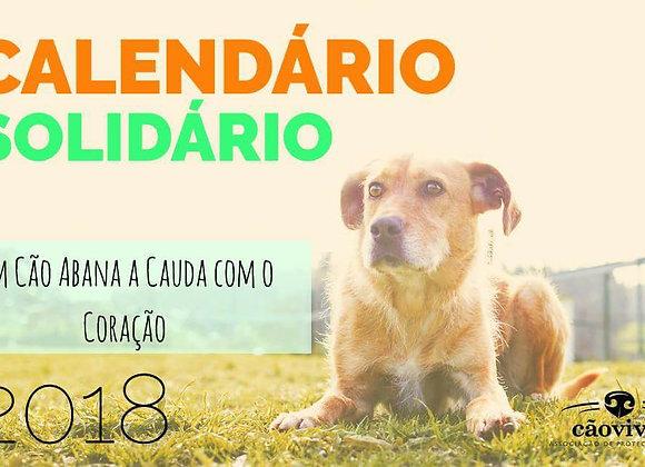 Pack 4 Calendários Solidários 2018