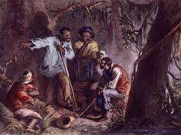 Nat Turner at Cabin Pond