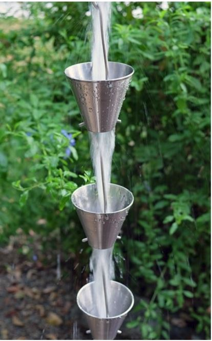 Stainless Steel Rain Chain Cups