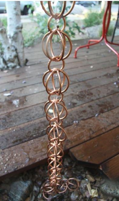 triple-loop-rain-chains-copper-saint-cloud-lake-nona-harmony-fl