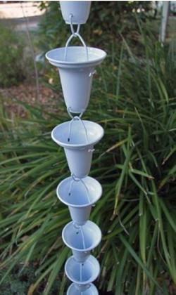 flared-rain-chain-cups-aluminum-saint-cloud-fl