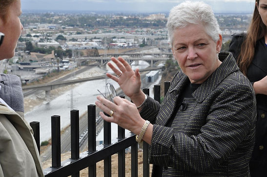 Gina mccarthy, podship earth, environmental podcast, climate change podcast, green podcast, epa