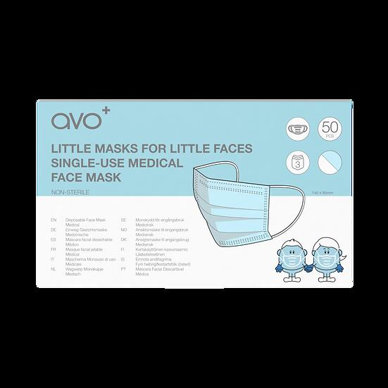 AVO+ Little Masks for Little Faces - 50 box (Type IIR)