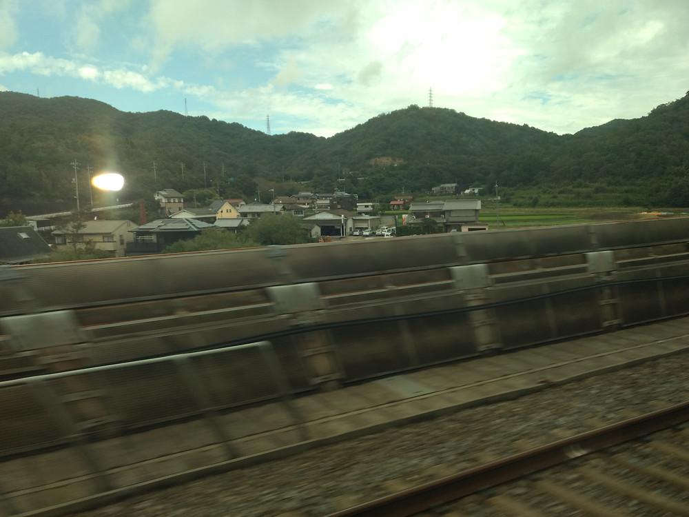 La campiña japonesa a 300 km/h