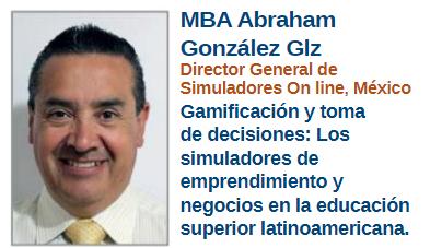 Entrevista de la revista MBA con el Director General de Simuladores On Line México Abraham Gonzalez