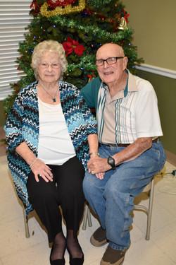 "Shirley Claggett & ""Pappy"""