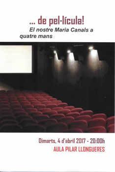 de pel·licula El nostre Maria Canals a q