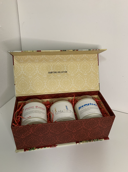 Gift Set of 3 with Holiday Box
