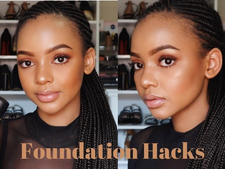 Foundation Hacks For The Make-up Fanatic