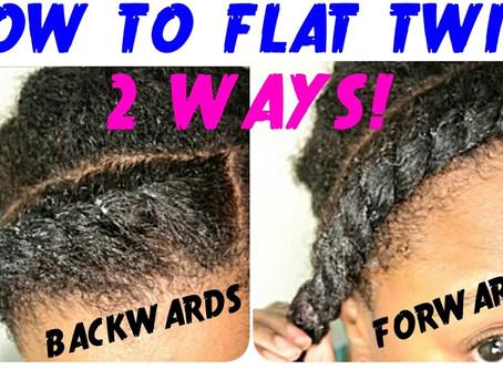 Flat Twist Tutorial