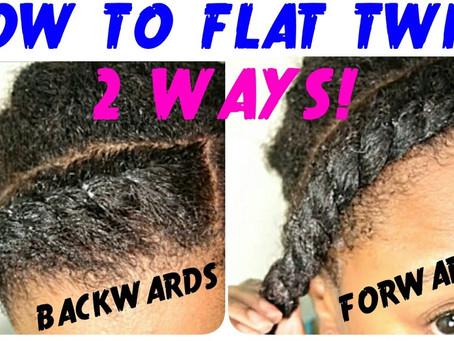 Flat Twist Tutorial