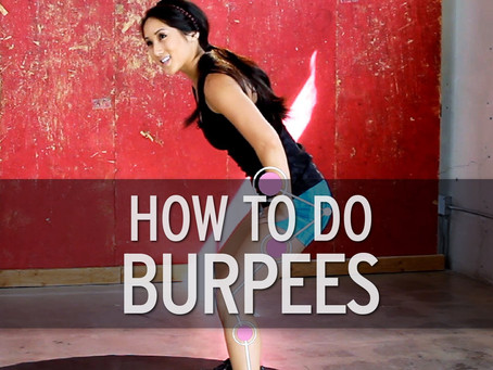 Steps To The Perfect Burpee