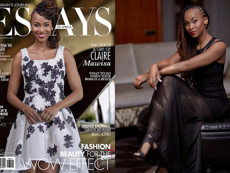 Claire Mawisa in the November Issue of EOA Magazine